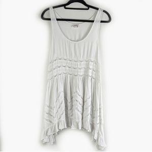Free People Dresses - Free People Trapeze Dress Boho Polka Dots & Lace
